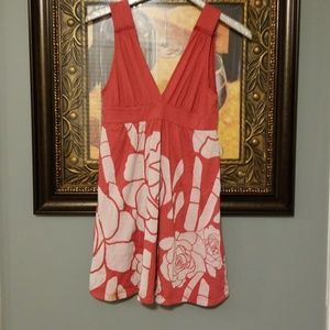 Gypsy 05 red tank dress Rose design E221:4:518